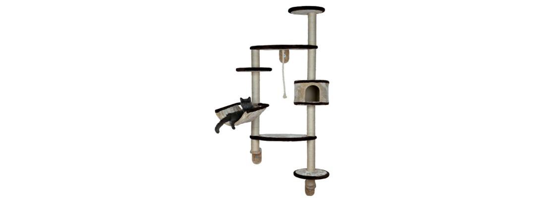 wandkratzb ume wandkratzbaum kratzbaum zur wandmontage. Black Bedroom Furniture Sets. Home Design Ideas