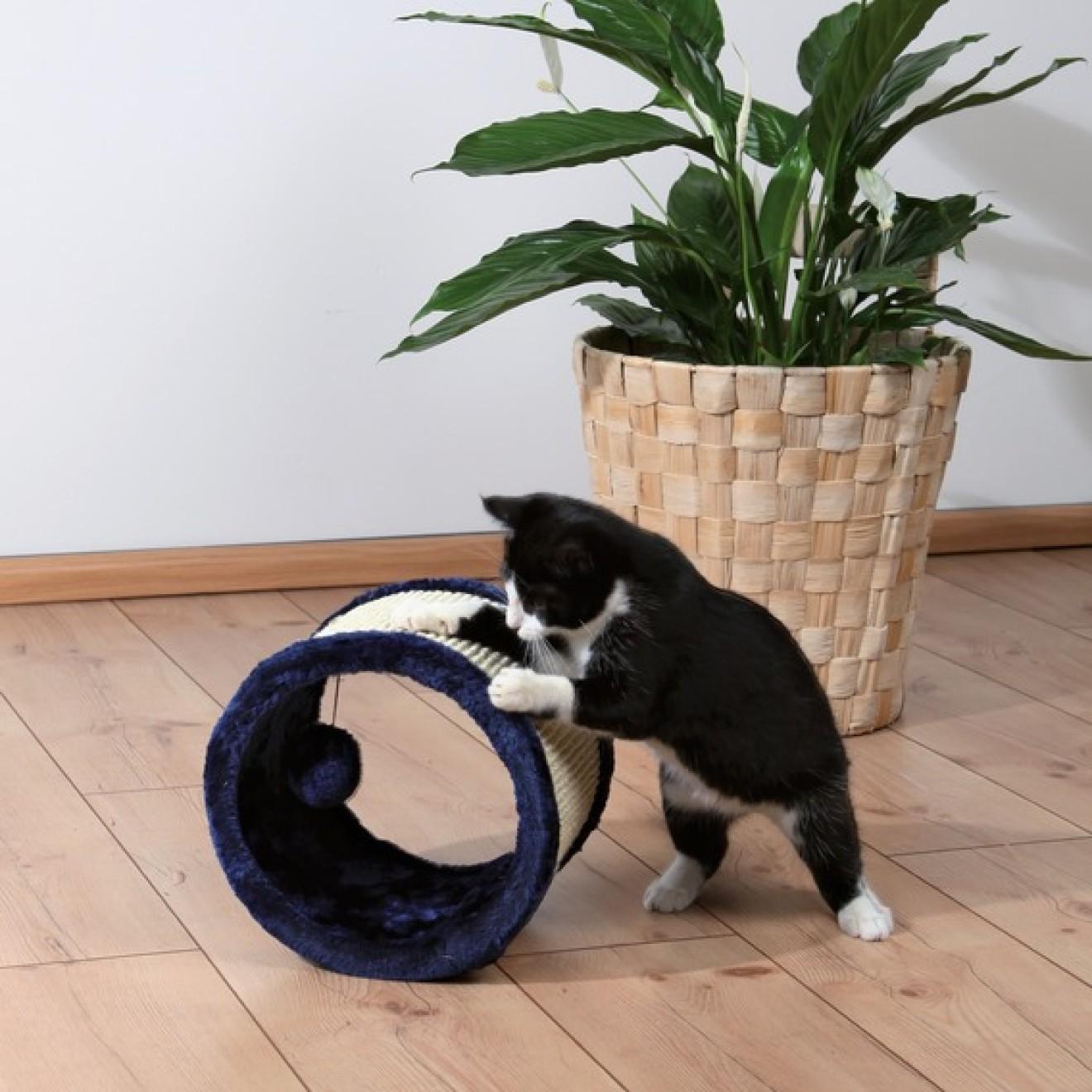 kratz spielrolle f r katzen kratzspielzeug online auf. Black Bedroom Furniture Sets. Home Design Ideas