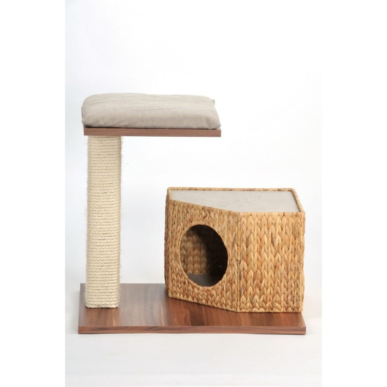kleiner kratzbaum wohnboy loom 54 cm hoch online kaufen. Black Bedroom Furniture Sets. Home Design Ideas