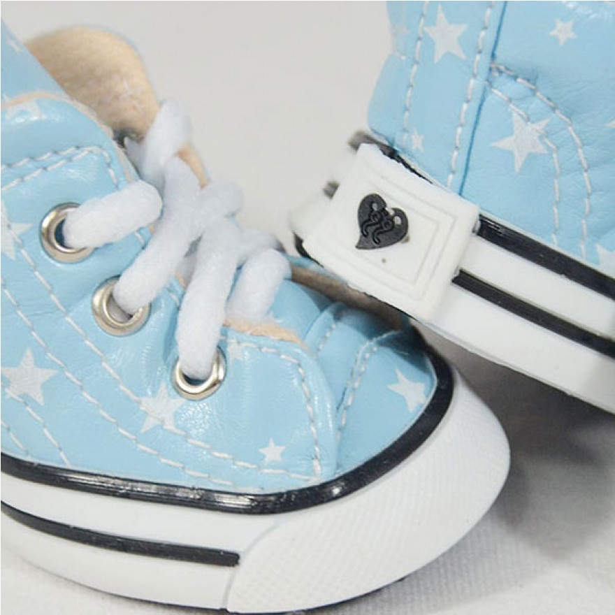 Hunde-Sneakers BE A STAR sky