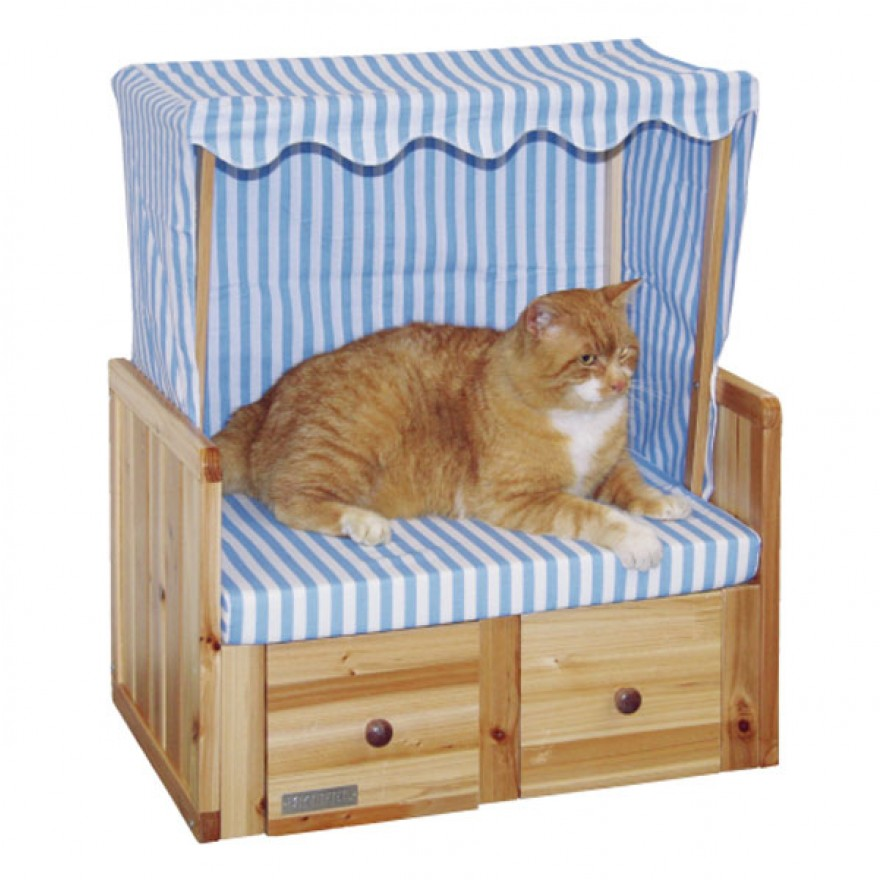 katzen strandkorb amrum strandk rbe f r katzen. Black Bedroom Furniture Sets. Home Design Ideas