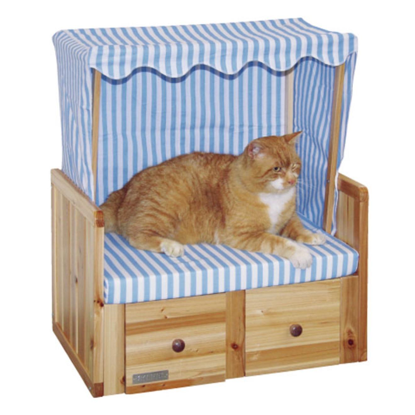 katzen strandkorb amrum strandk rbe f r katzen. Black Bedroom Furniture Sets. Home Design Ideas