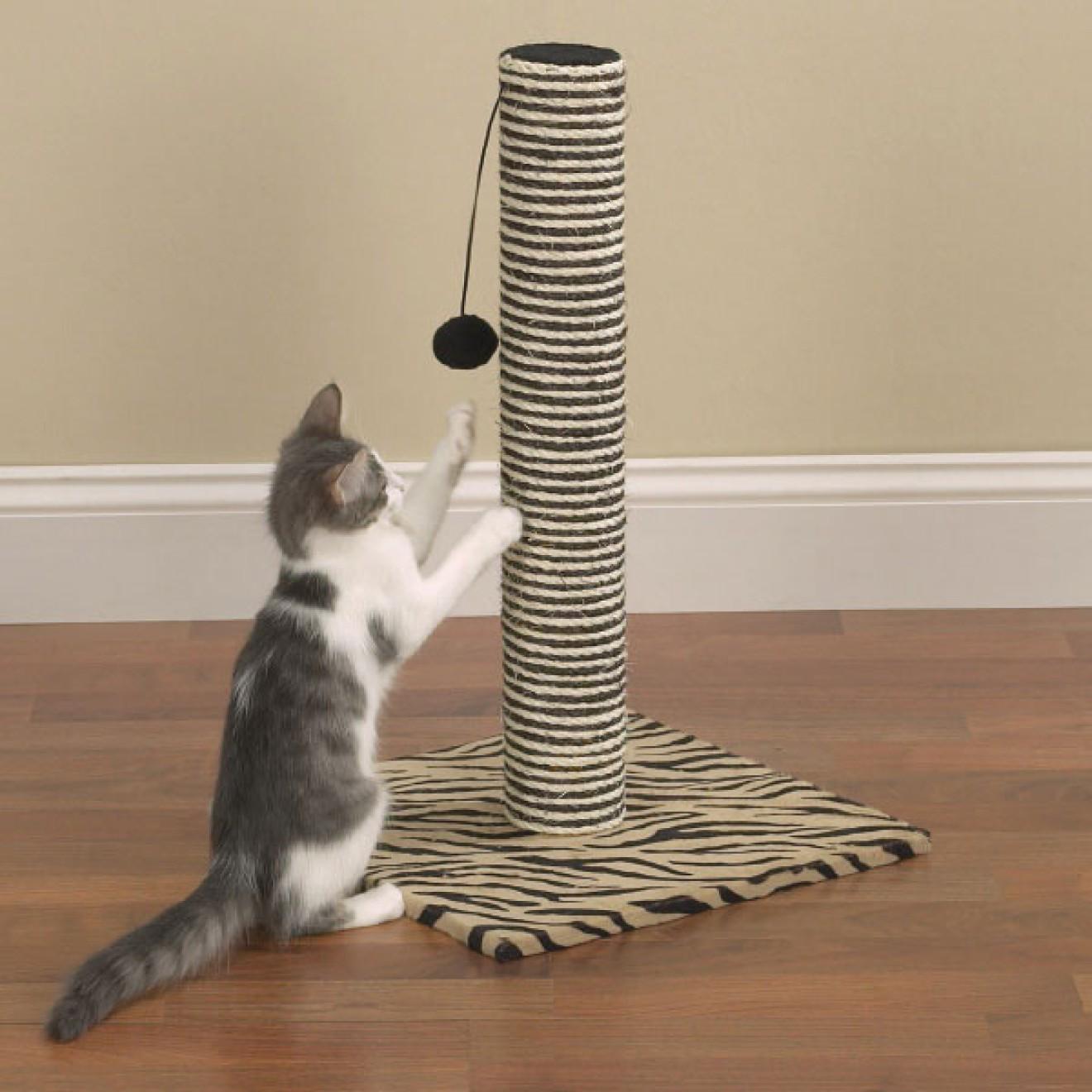 katzenkratzbaum wild thing katzenspielzeug sisal. Black Bedroom Furniture Sets. Home Design Ideas