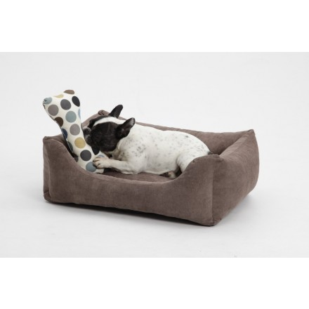 hundebett pure madison coffee in 4 gr ssen hunde box bed pure. Black Bedroom Furniture Sets. Home Design Ideas
