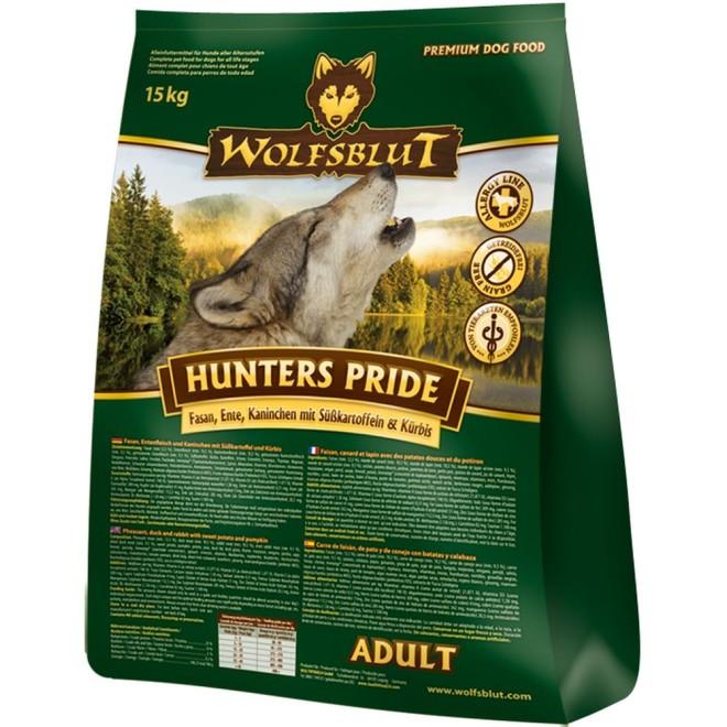 trockenfutter wolfsblut hunters pride. Black Bedroom Furniture Sets. Home Design Ideas