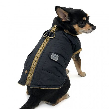 Hundemantel Sports Elite black - neue Kollektion aus NYC