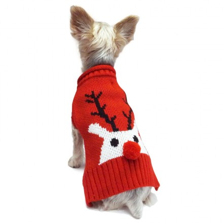 Hundepullover Red Nose - Neue Kollektion NYC