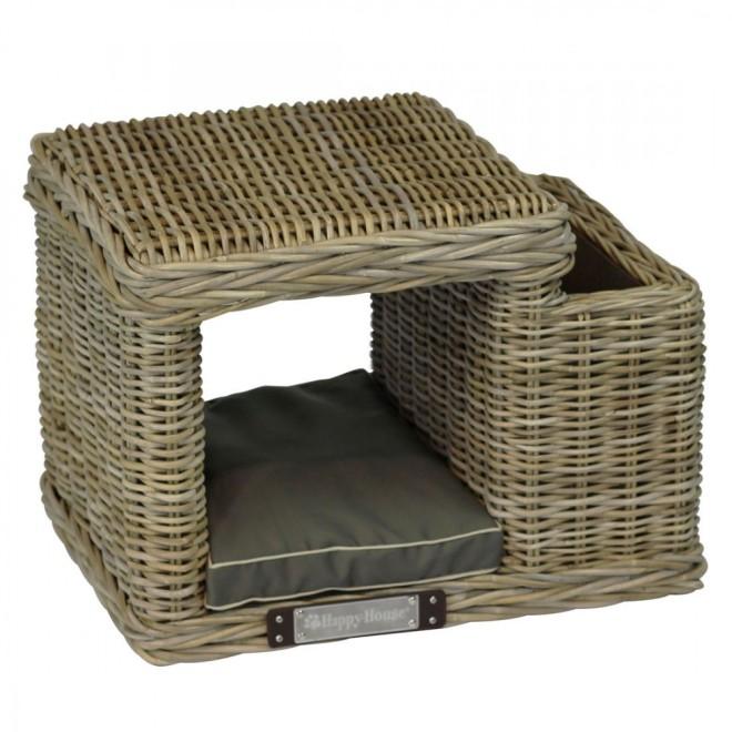 rattan katzenhocker rund rattan katzenh hle rattan katzenbett. Black Bedroom Furniture Sets. Home Design Ideas