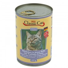 Classic Cat Soße mit Truthahn & Ente 12 x 415g Dose