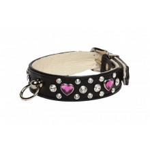 Strass-Hundehalsband Be My Love, L�ngen 30-42cm