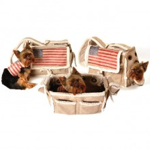 Fell-Hundetasche USA