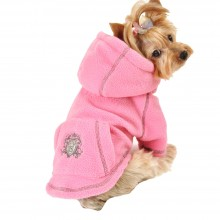 Hundesweatshirt Royal Princess pink