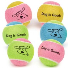 Gratis Hunde-Tennisball Dog is Good (ab 75 Euro Bestellwert)