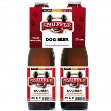 Hundebier Snuffles Dog Beer Beef & Chicken 4er Pack