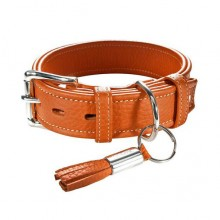 Hundehalsband Cannes orange 55 cm Länge - ANGEBOT