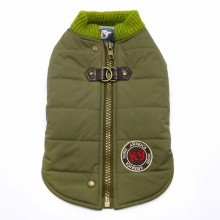Hundemantel Sports olive - neue Kollektion aus NYC