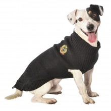 Hundepullover Oxford black