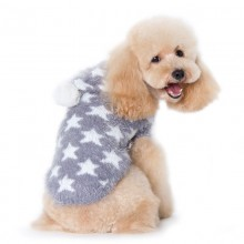 Hundepullover Little Star Grau - Neue Kollektion NYC