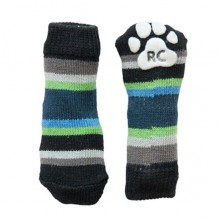 ABS-Hundesocken Blue Stripes, XXS, XS, L, 4 Socken