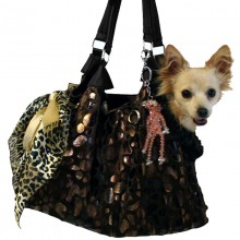 Hundetasche City Black