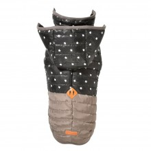 Polar Winter-Hundejacke STAR taupe