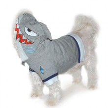Hunde-Hoodie Haifisch Gr. XS - 2XL