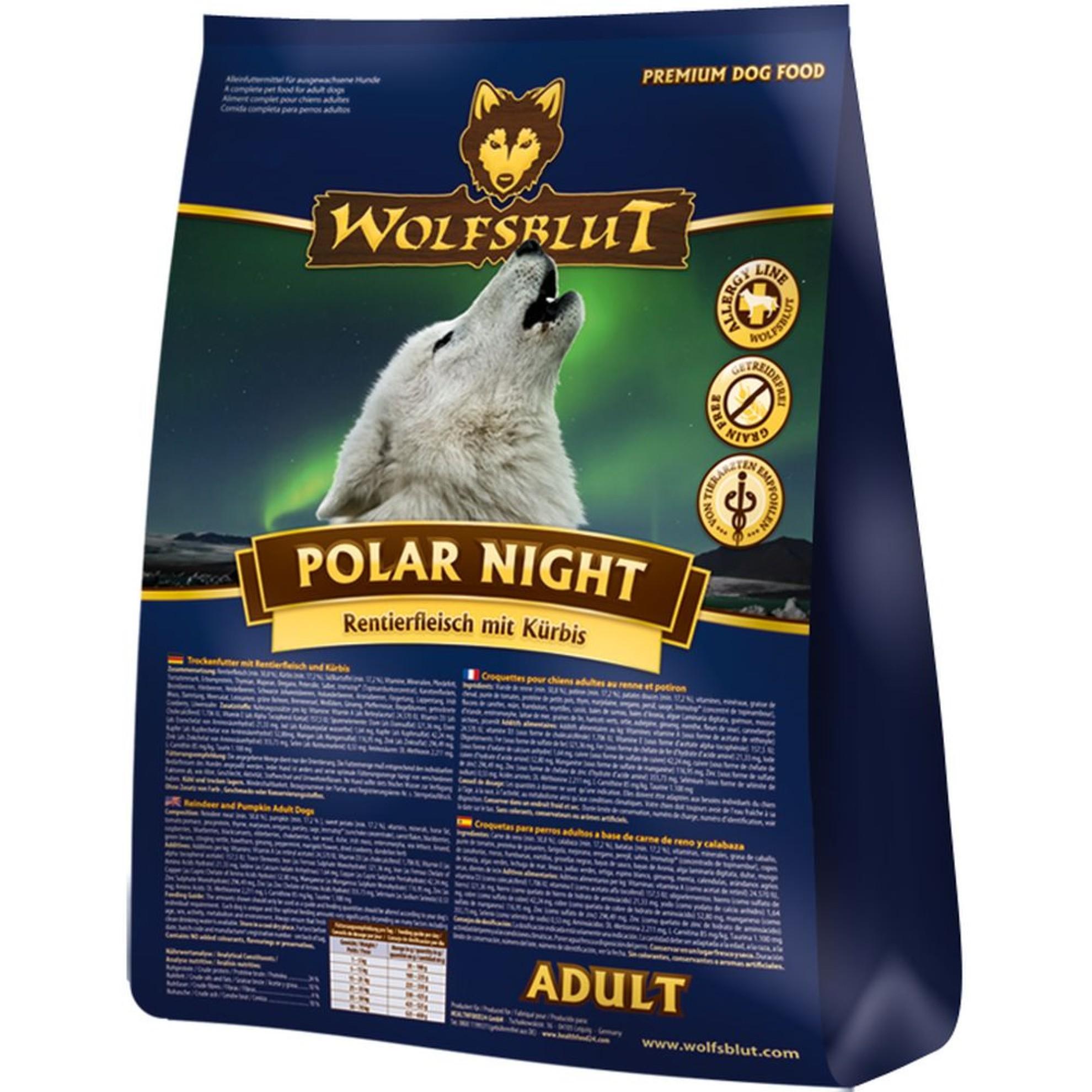 trockenfutter wolfsblut polar night. Black Bedroom Furniture Sets. Home Design Ideas