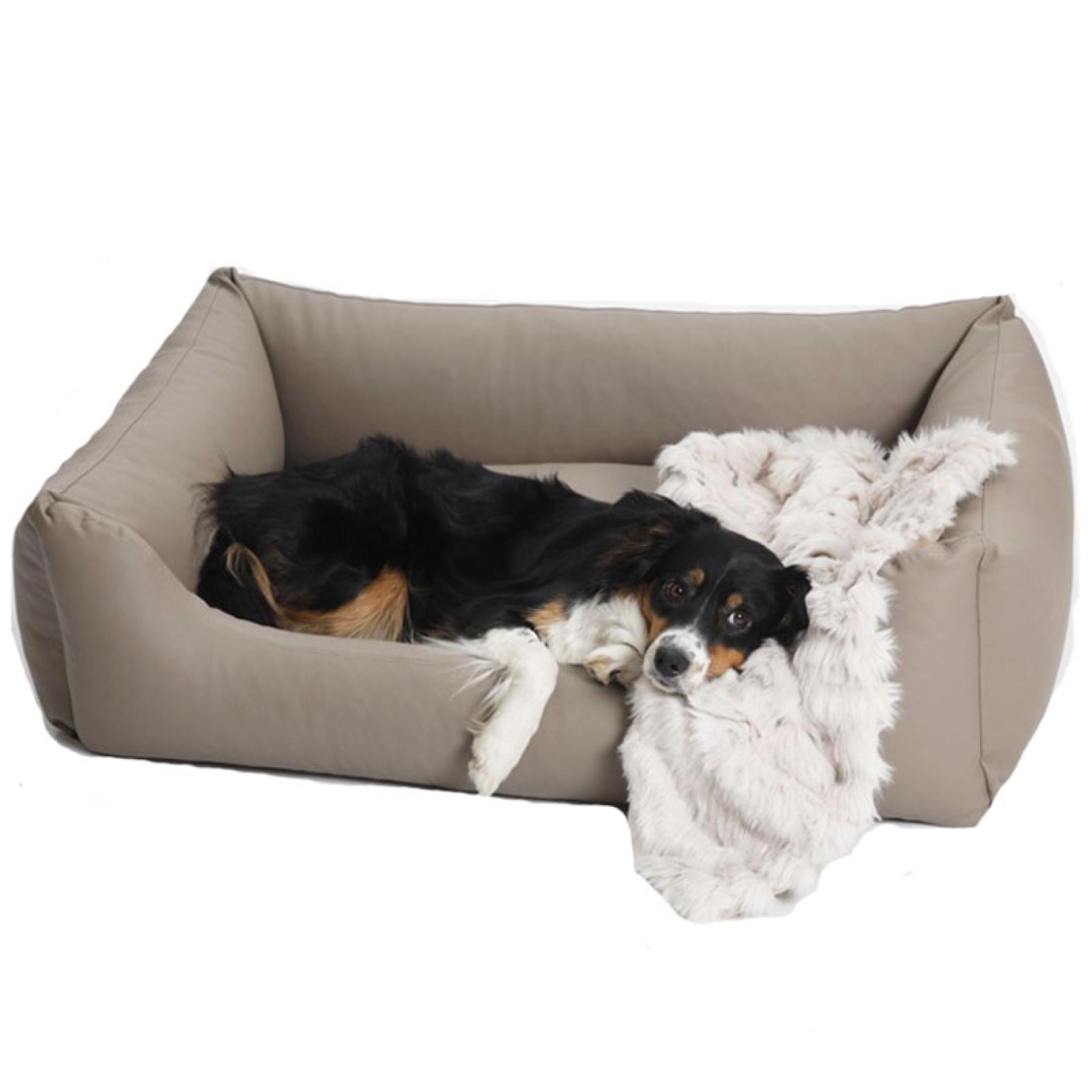 hundebett kunstleder sand in 3 gr ssen hundebett. Black Bedroom Furniture Sets. Home Design Ideas