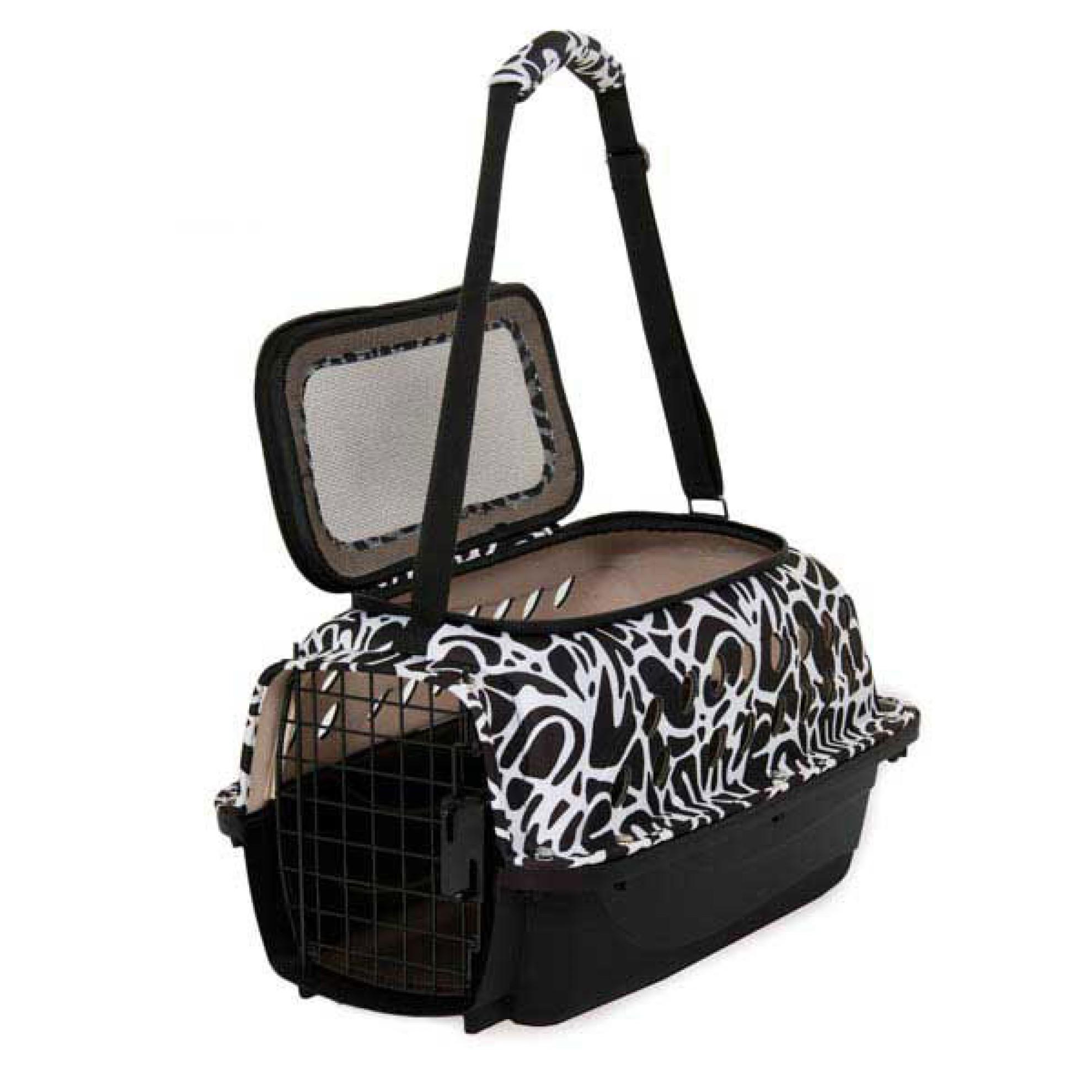 fashion transportbox f r hunde katzen plastik transportbox. Black Bedroom Furniture Sets. Home Design Ideas